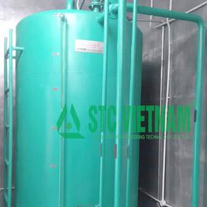 Bồn dầu máy phát điện 3000 lít