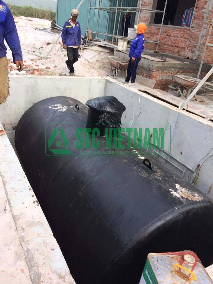 Bồn dầu máy phát điện 10.000 lít