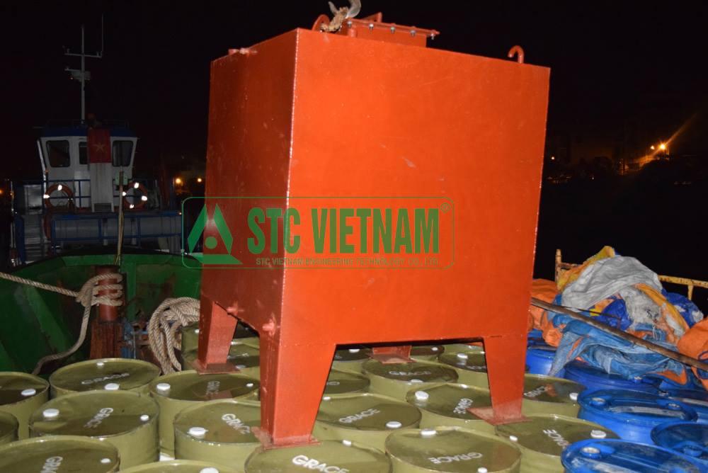 Bồn dầu máy phát điện 1200 lít