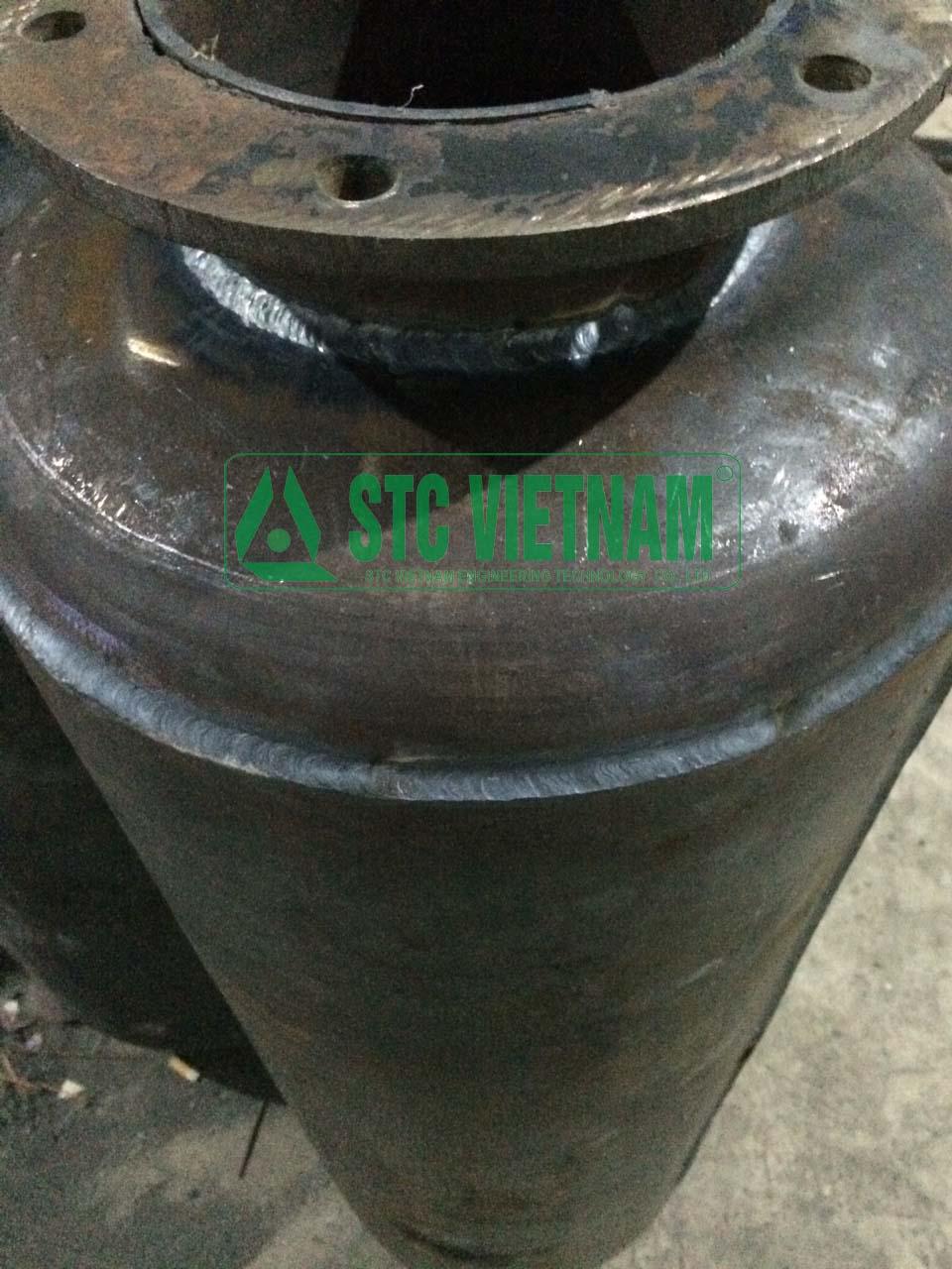 Gia công ống pô theo yêu cầu