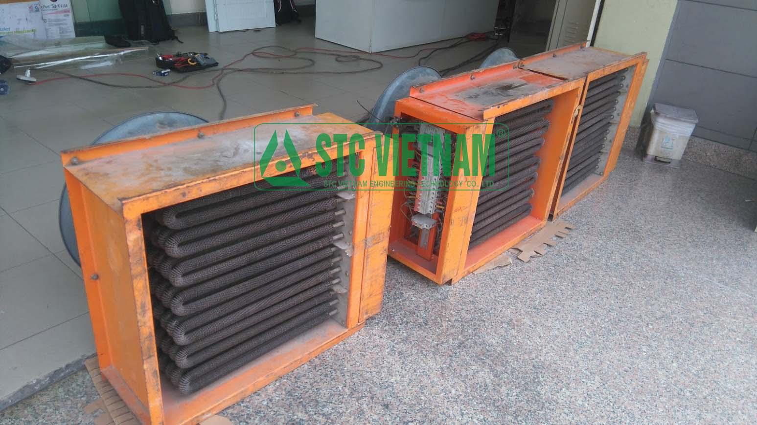 Thử tải máy phát điện 800 Kva