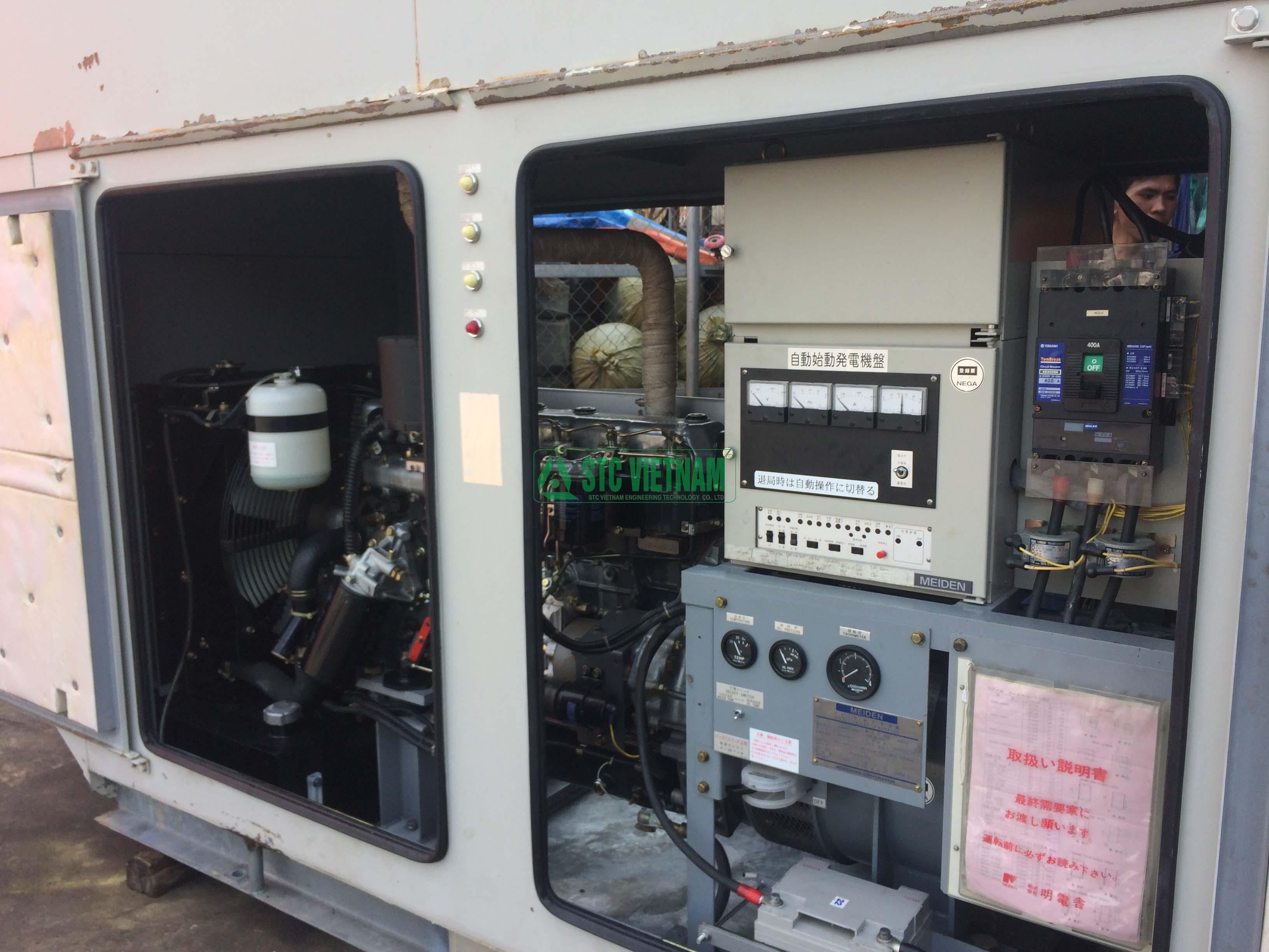 Máy phát điện cũ Mitsubishi 100 Kva