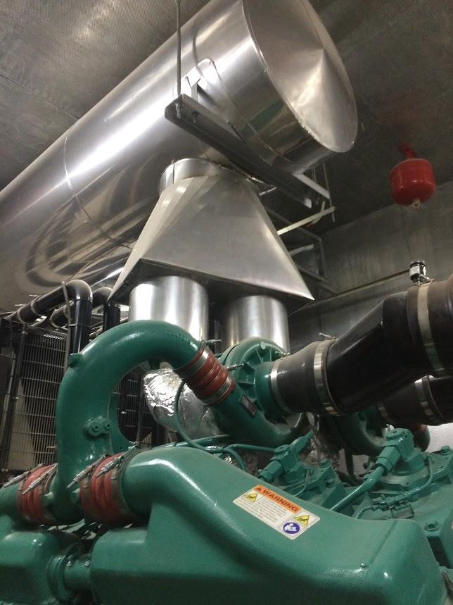 Bảo ôn cách nhiệt ống khói D450