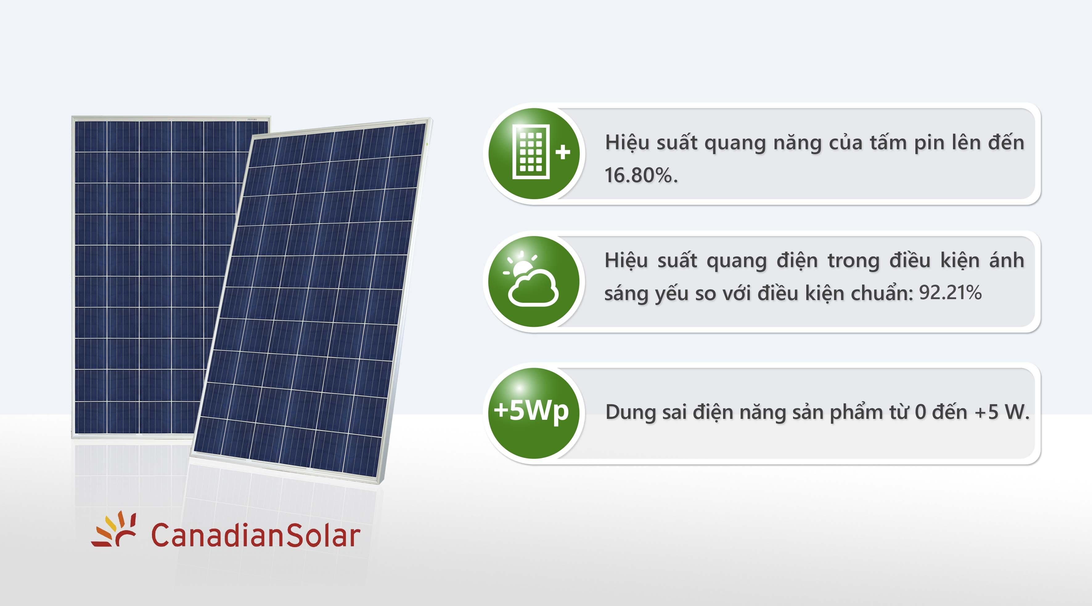 Tấm Pin GCL Solar 370 Wp