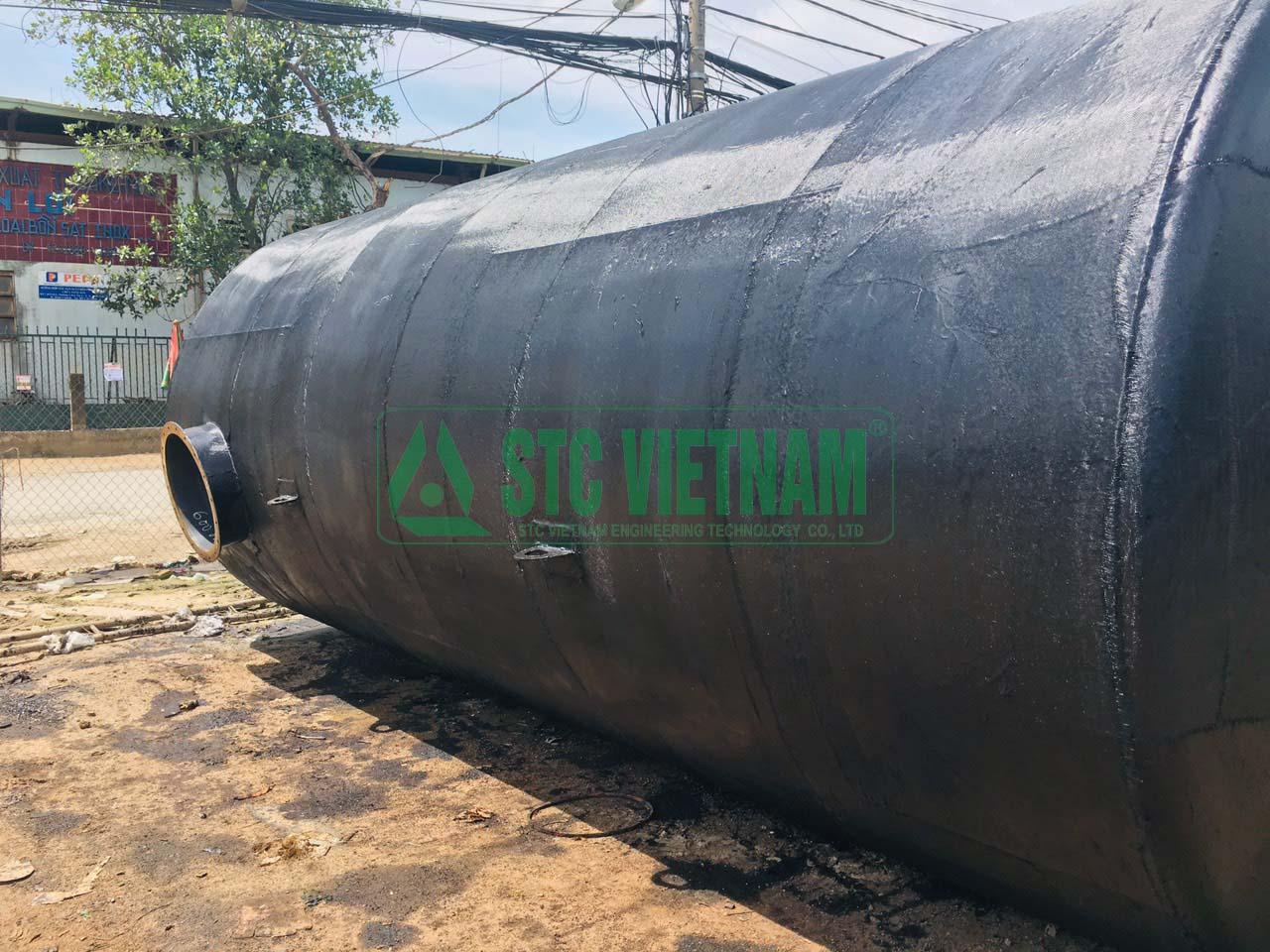 Tank Fuel Generator 1000 lit