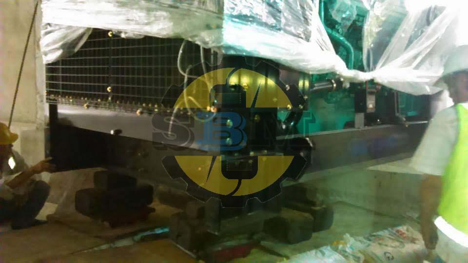Vận chuyển và lắp đặt máy phát điện2500 Kva