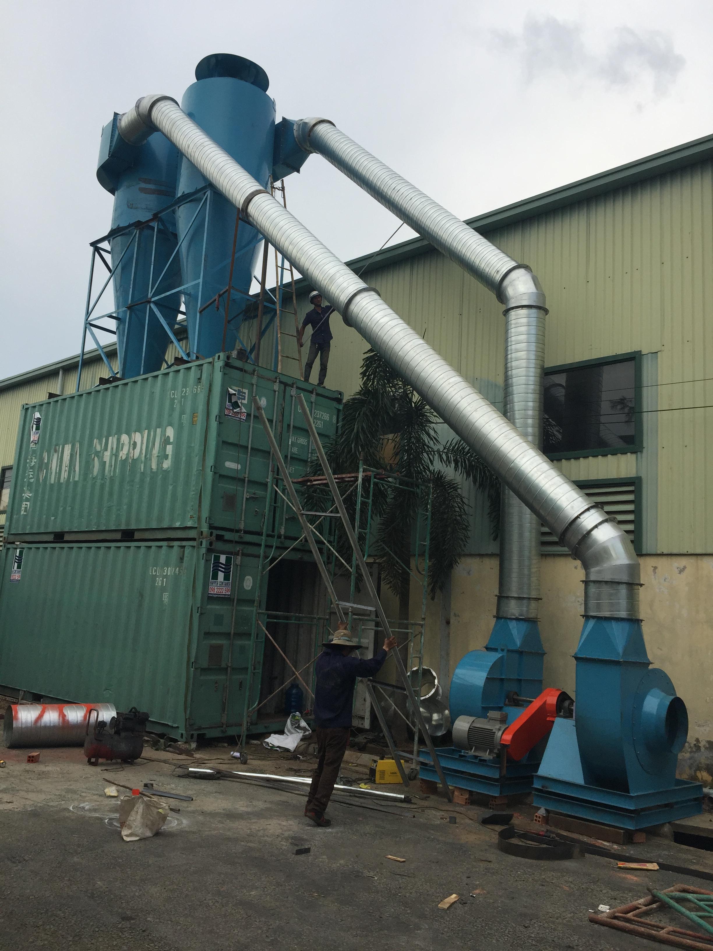 Hệ thống lọc bụi cho nhà máy