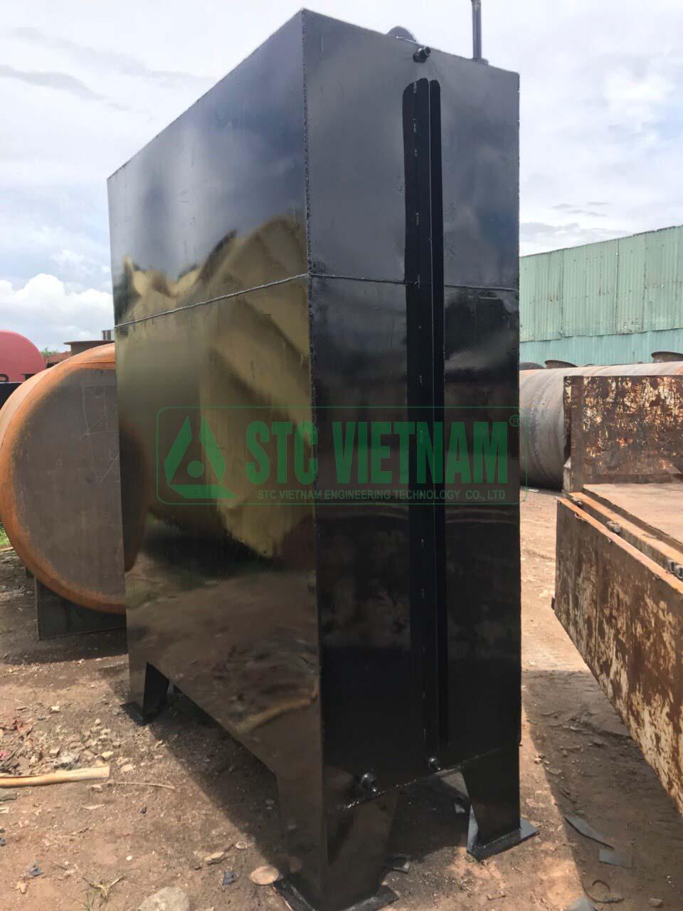3000 liter, 4mm generator oil tank