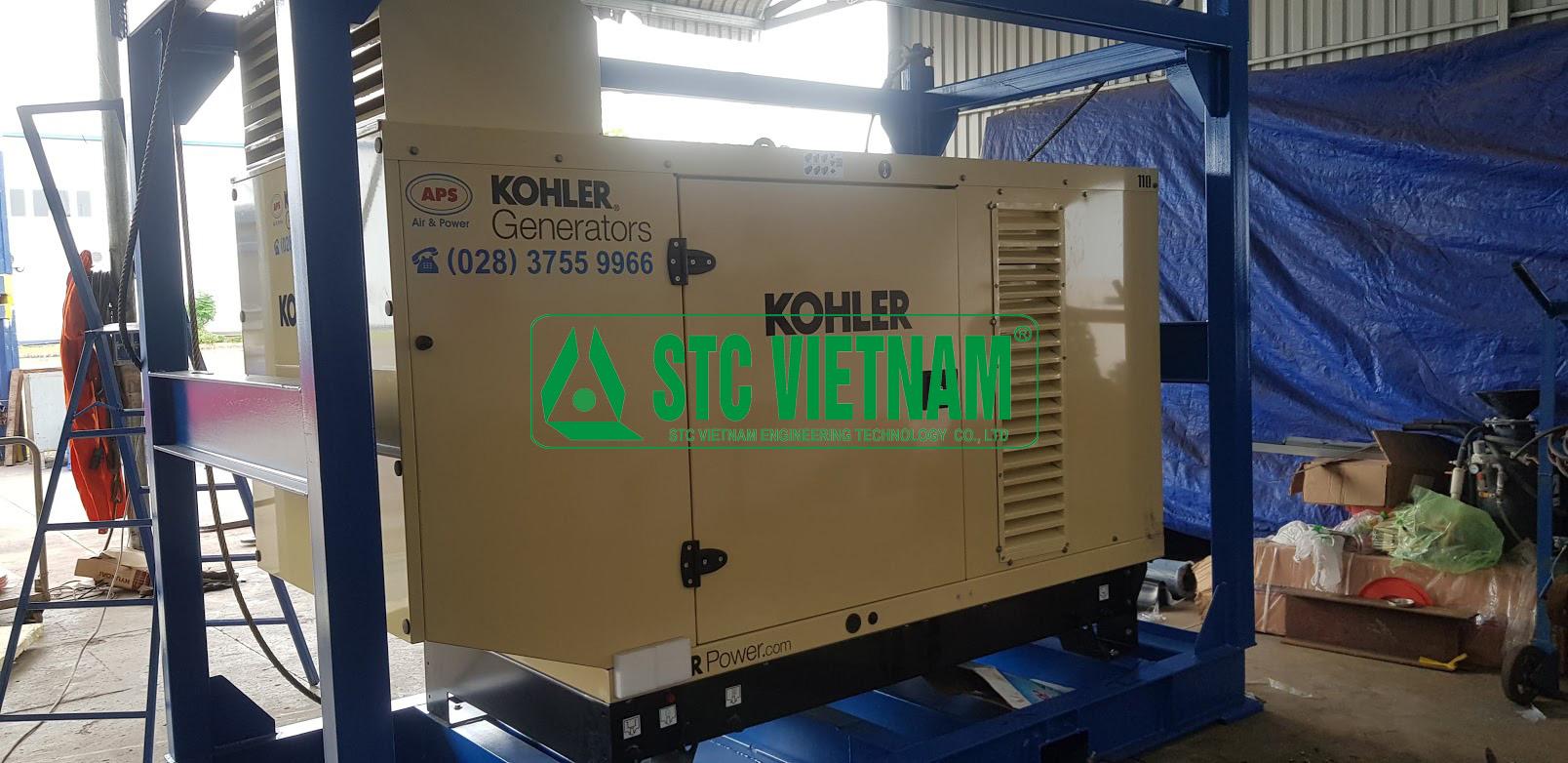 Vỏ cách âm máy phát điện Kohler 440 Kva