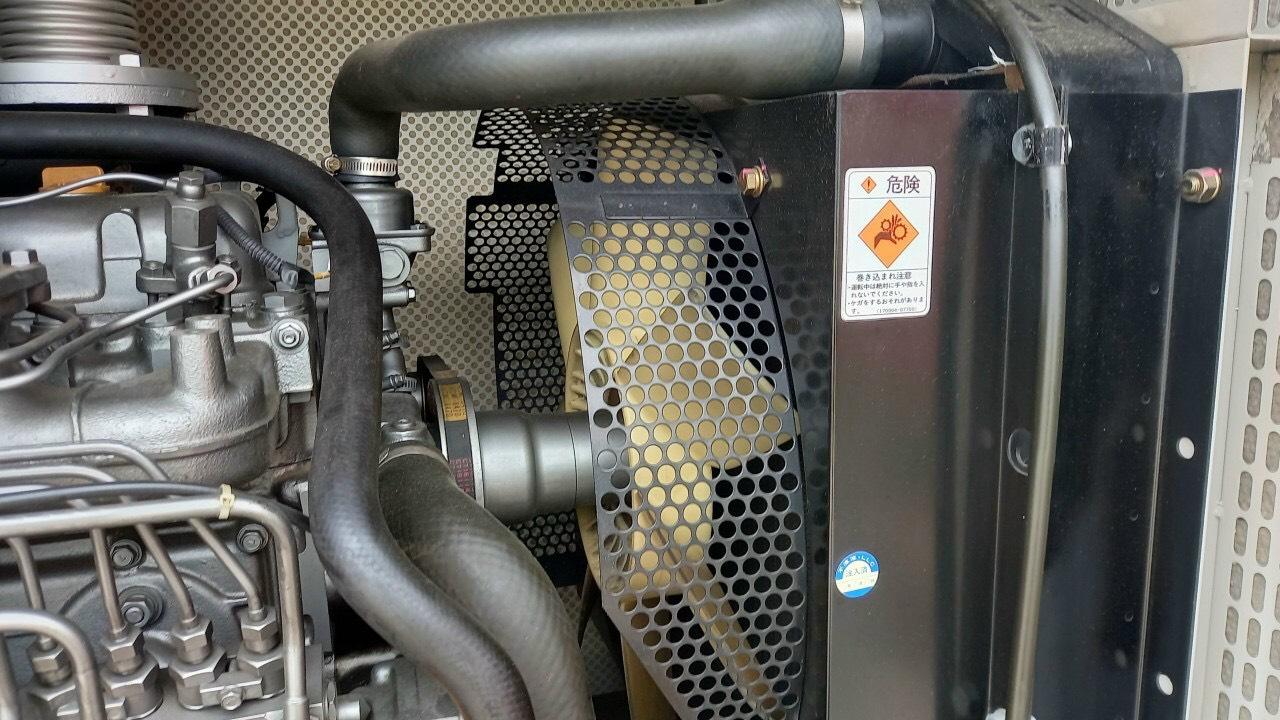 Máy phát điện cũ Yanmar 100 Kva
