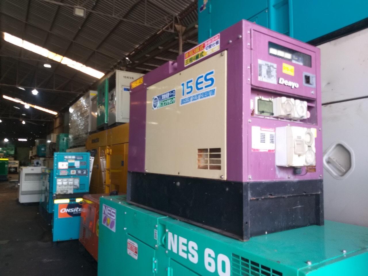 Máy phát điện Cũ Yanmar Genset 15kva GS