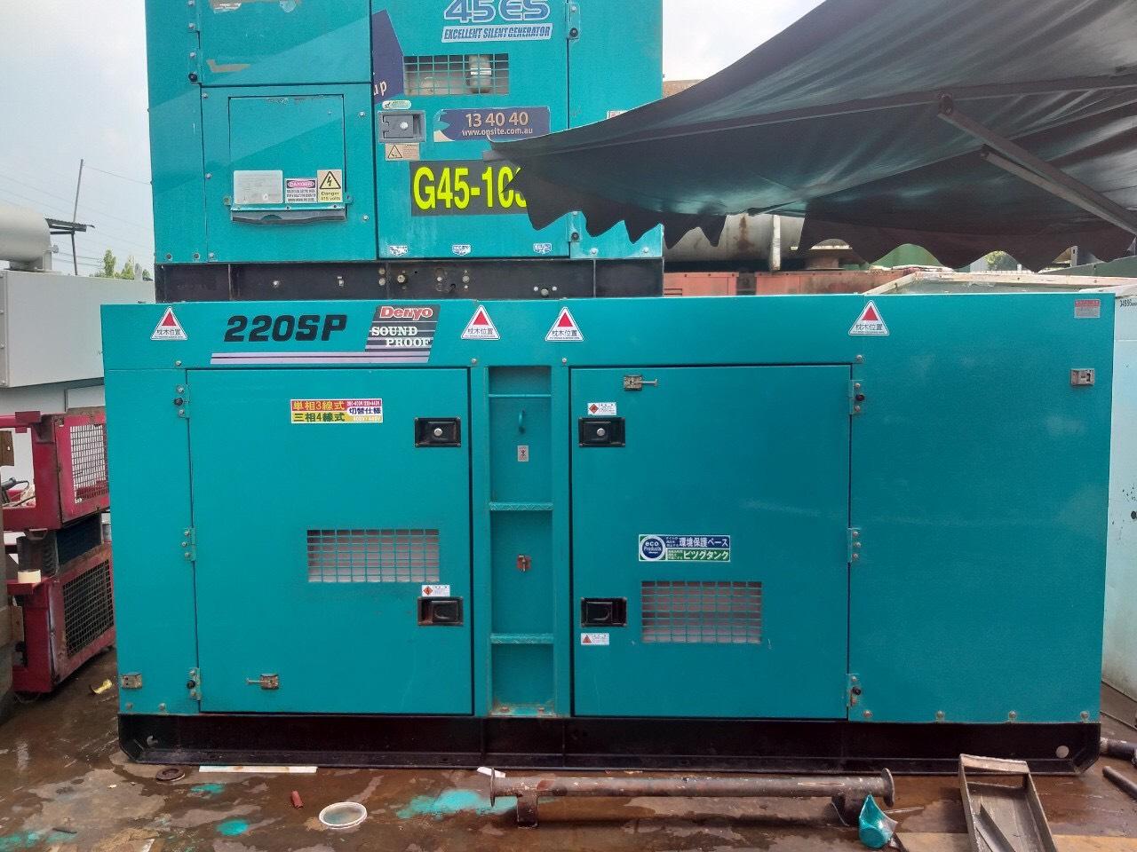 Máy phát điện cũ Denyo 220 Kva GMS