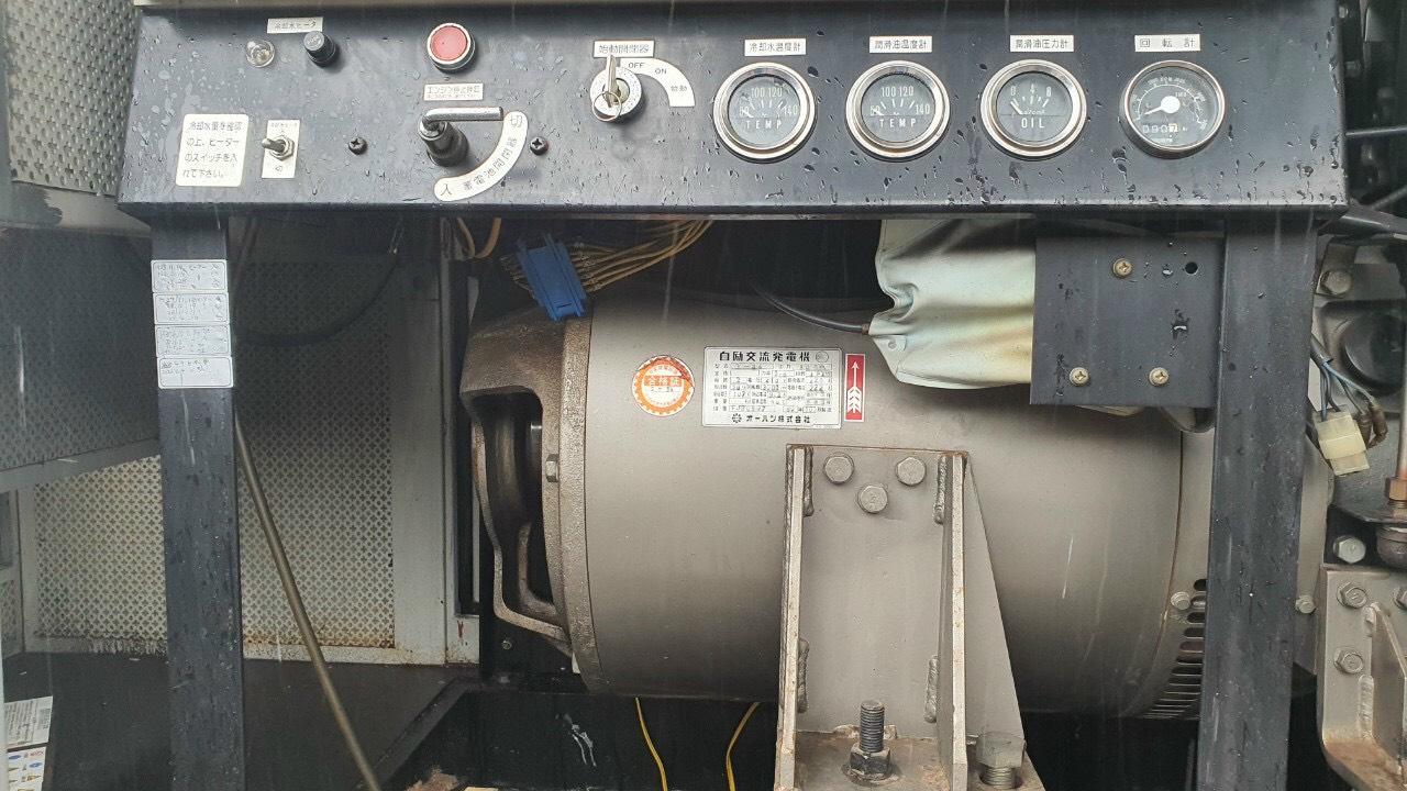 Máy phát điện cũ Yanmar 80 Kva