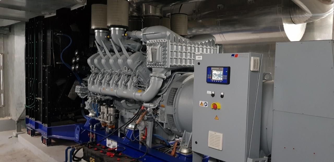 Phòng cách âm máy phát điện tiêu chuẩn công nghiệp