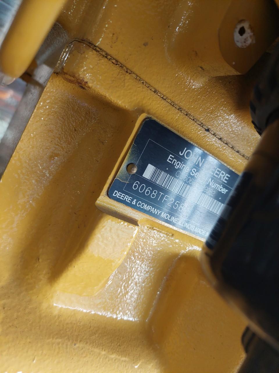 Máy phát điện JohnDeere 150 Kva – France – 2019
